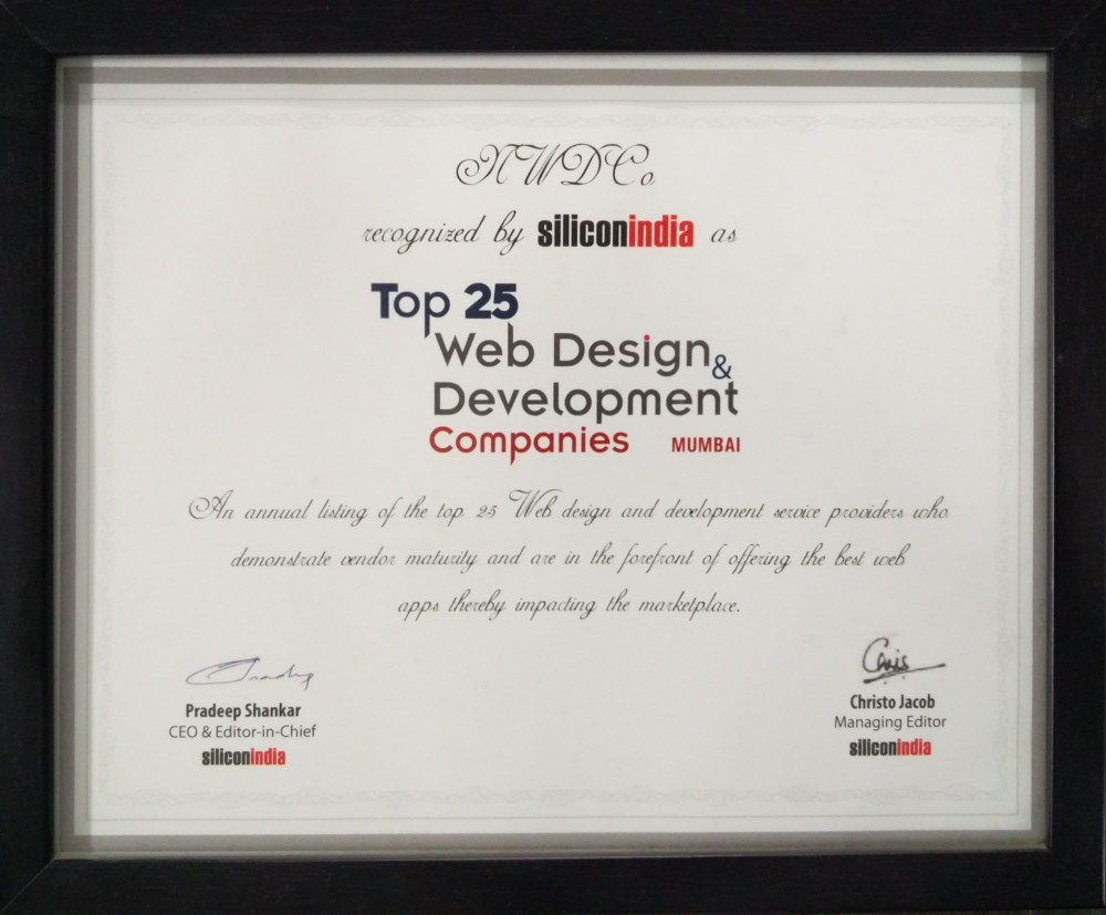 Top 25 Web Design & Development Companies in Mumbai by Silicon India